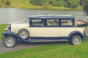 Bramwith Landaulet Royal Vintage Wedding Car Hire Manchester, Cheshire